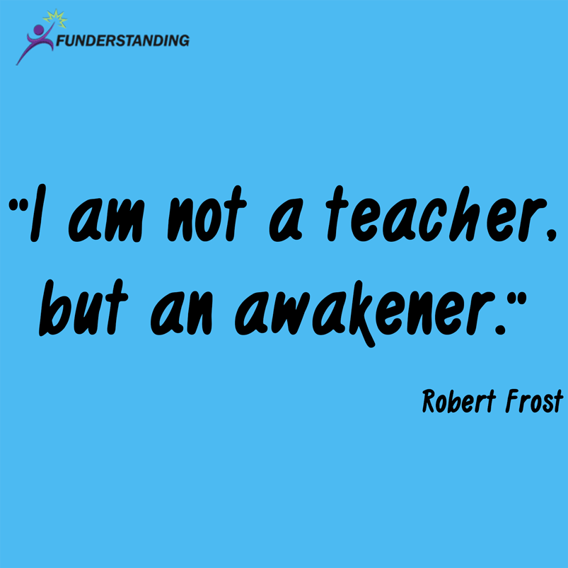 Innovative English Classrooms ~ Quote of the day funderstanding